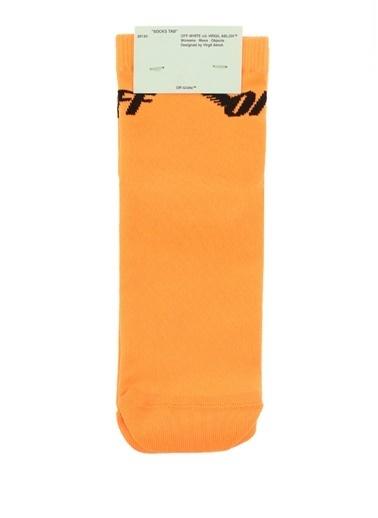 Off-White Çorap Oranj